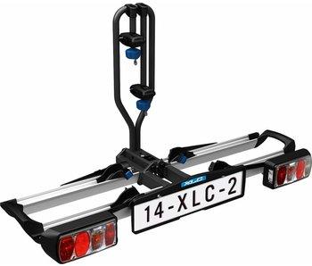 Fietsendrager XLC Azura Xtra 2F (opklapbaar en kantelbaar)