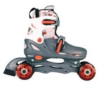 Inline Skates Quad Grijs Maat 34 - 37