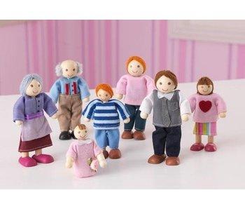 KidKraft 7-delige poppenfamilie