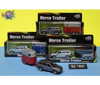Kids Globe Volvo XC90 met paardentrailer