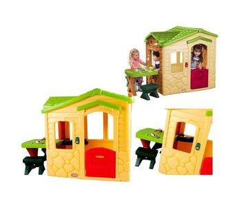 Little Tikes speelhuis picknick natural