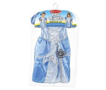 Melissa a Doug Verkleedkleding prinsessenjurk (blauw)