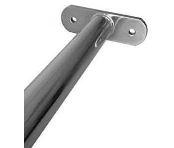 Metalen duikelstang RVS 90 cm