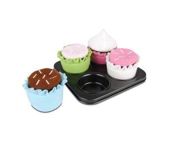 Micki cupcakeset 4 delig