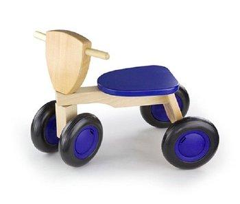 New Classic Toys Loopfiets - Road Star - Blauw