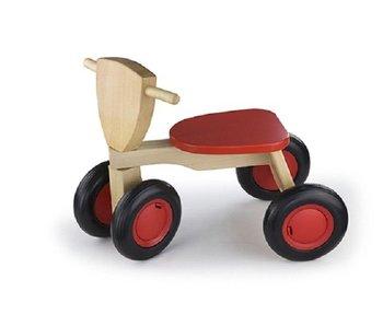 New Classic Toys Loopfiets - Road Star - Rood
