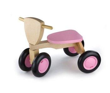 New Classic Toys Loopfiets - Road Star - roze