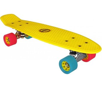 Nijdam Nijdam plastic skateboard geel