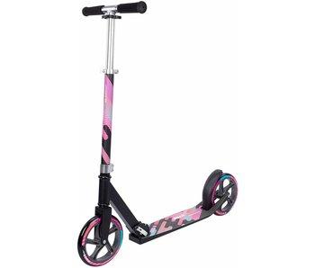 Nijdam Nijdam vouwstep - Urban Rider 200 Roze/Blauw/Zwart