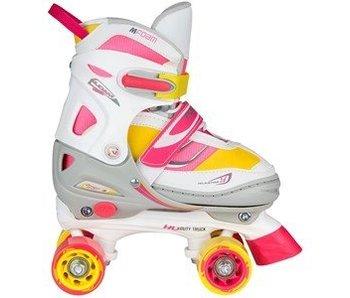 Rolschaatsen Meisjes Verstelbaar b Semi-Softboot b 34-37