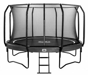 Salta First Class Trampoline Superior Black Edition 305 cm met veiligheidsnet en gratis trapje