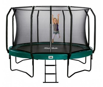 Salta trampoline first class superior 427 cm met veiligheidsnet en gratis trapje