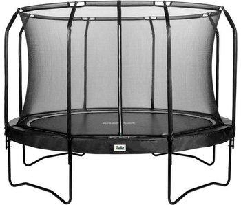Salta trampoline Premium Black Edition met veiligheidsnet 244 cm+ gratis trapje