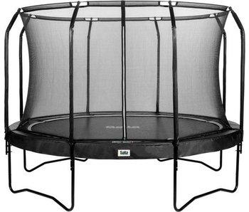 Salta trampoline Premium Black Edition met veiligheidsnet 366 cm +gratis trapje