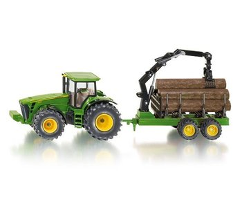 Siku 1992 John Deere houttransporter 1:50