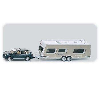 Siku 2542 Auto met caravan en accessoires 1:50