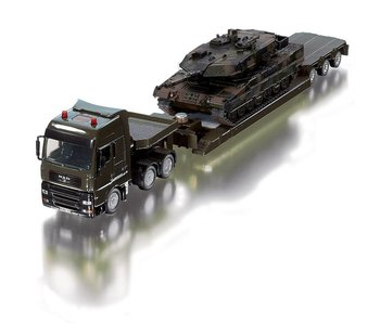 Siku 8612 1:50 Militair Zwaartransport met Panzer tank