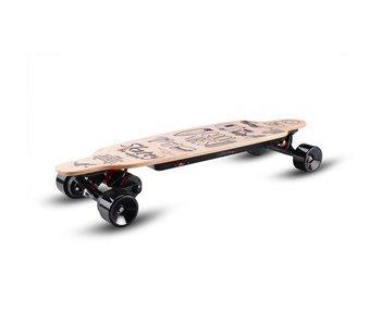 Skatey SKATEY 3200 elektrisch skateboard Lithium Wood Art