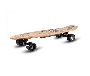 Skatey SKATEY 350 elektrisch skateboard Lithium Wood Art