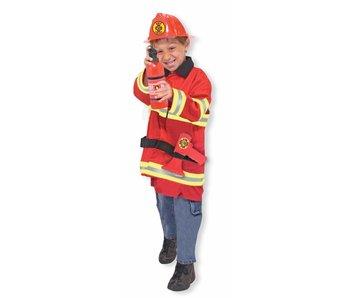 Verkleedkleding brandweer Melissa a Doug