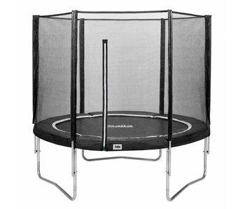 Salta trampoline met veiligheidsnet 183 zwart + gratis trapje