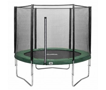 Salta trampoline met veiligheidsnet 213 Groen + gratis trapje
