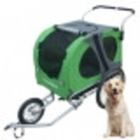 Regenhoes Hondenfietskar Doggy Deluxe & Faster