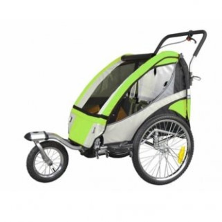 Faster Kinderfietskar voor 2 kinderen met vering
