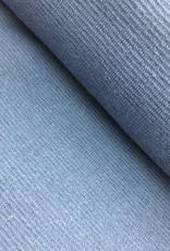 Boordstof - Licht Jeansblauw