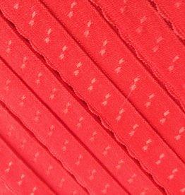 Elastische Sierbandje - Biais -  Rood