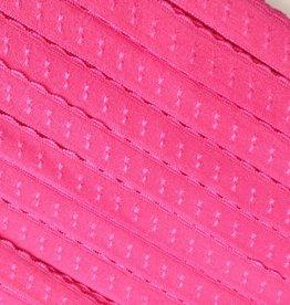 Elastische Sierbandje - Biais -  Fuchsia