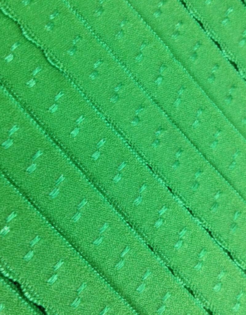 Elastische Sierbandje - Biais -  Groen