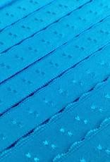 Elastische Sierbandje - Biais -  Aqua