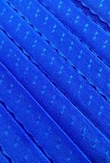 Elastische Sierbandje - Biais -  Blauw