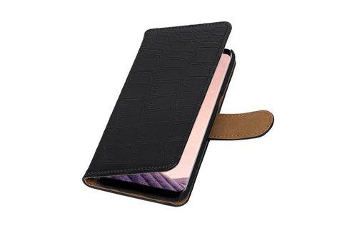 Croco Bookstyle voor S8 Plus Zwart