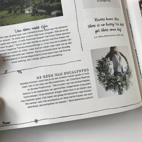 Flow magazine ~ in de media