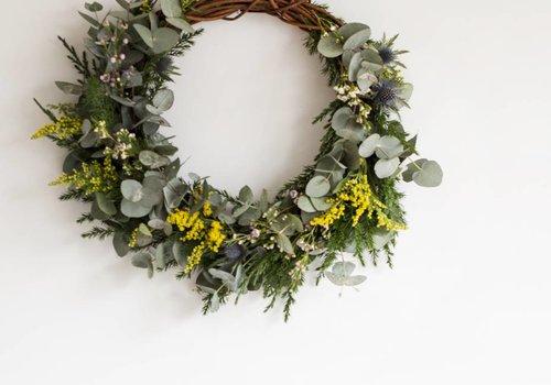 Wreath Flerfarga Ø 65 cm