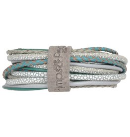 Pimps and Pearls Moesss Superior Armband 0916 Sea Grass