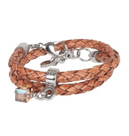 Pimps and Pearls Moesss Style Trenza 03 Cognac