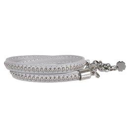 Pimps and Pearls Moesss Trendy Leder 10 Pastel Grey