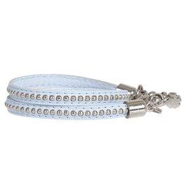 Pimps and Pearls Moesss Trendy Leder 22 Light Sky
