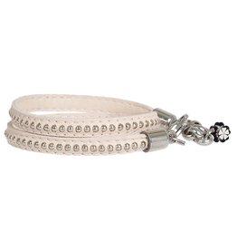 Pimps and Pearls Moesss Trendy Leder 23 Creamy