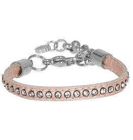 Pimps and Pearls Moesss Uno Swarovski 26 Shiny Pink