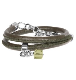 Pimps and Pearls Moesss Style 22 Army Kaki