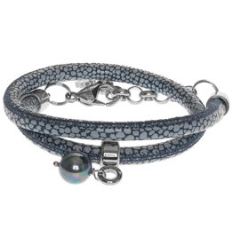 Pimps and Pearls Moesss Style 23 Blue Dots