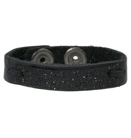 Pimps and Pearls Moesss Have Uno Swarovski 01b Black