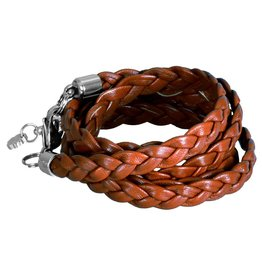 Pimps and Pearls Moesss Trenza 03 Cognac