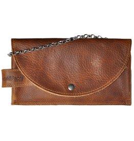 Pimps and Pearls Tasss 8 - Smart/Wallet/Clutch 803 Cognac