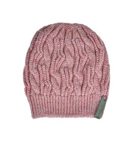 Pimps and Pearls Beanie Caban Muts BC04 Pink