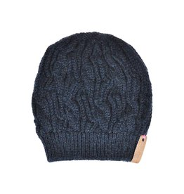 Pimps and Pearls Beanie Caban Muts BC07 Midnight Blue